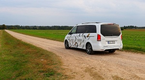 Travelnews.lv apceļo Latviju ar jauno biznesa klases mikroautobusu «Mercedes-Benz V-Klase» 50