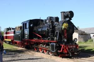 Gulbenē ar daudzveidīgu programmu svin Bānīša svētkus - vienīgā regulāri kursējošā šaursliežu dzelzceļa vilciena 116.dzimšanas dienu 1