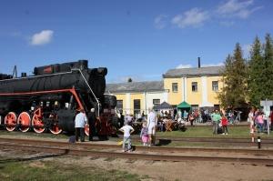 Gulbenē ar daudzveidīgu programmu svin Bānīša svētkus - vienīgā regulāri kursējošā šaursliežu dzelzceļa vilciena 116.dzimšanas dienu 8