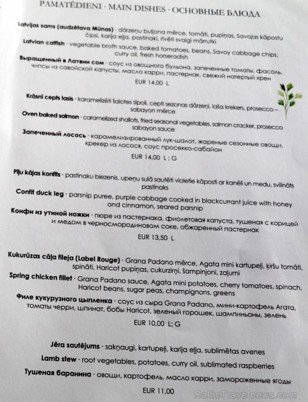 Travelnews.lv izbauda ģimenes restorāna «Hercogs Ādaži» ēdienkarti un atmosfēru
