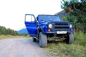 Travelnews.lv ar apvidus spēkratu «UAZ» dodas Kaukāza kalnu bezceļos. Atbalsta: Magtur 1