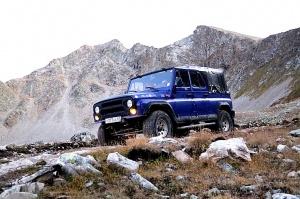 Travelnews.lv ar apvidus spēkratu «UAZ» dodas Kaukāza kalnu bezceļos. Atbalsta: Magtur 29