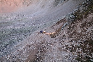 Travelnews.lv ar apvidus spēkratu «UAZ» dodas Kaukāza kalnu bezceļos. Atbalsta: Magtur 36