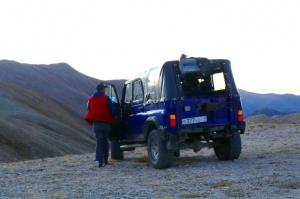Travelnews.lv ar apvidus spēkratu «UAZ» dodas Kaukāza kalnu bezceļos. Atbalsta: Magtur 40