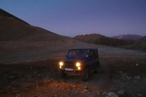 Travelnews.lv ar apvidus spēkratu «UAZ» dodas Kaukāza kalnu bezceļos. Atbalsta: Magtur 43