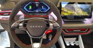 «Green Motors» divas dienas publikai prezentē jaunā koncepta auto «Škoda Vision RS» 12