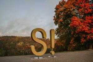 Sigulda var dižoties daudzveidīgām rudens ainavām pilsētā un tās apkārtnē 8