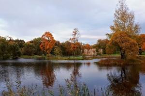 Preiļu pilsētu un parku ieskauj rudens zelts 1