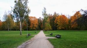 Preiļu pilsētu un parku ieskauj rudens zelts 2
