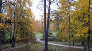 Preiļu pilsētu un parku ieskauj rudens zelts 5