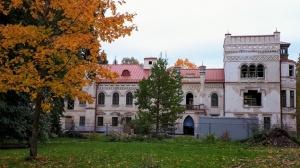 Preiļu pilsētu un parku ieskauj rudens zelts 12