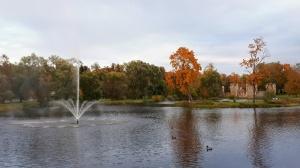 Preiļu pilsētu un parku ieskauj rudens zelts 16