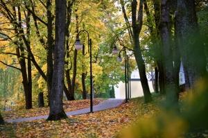 Latvijas vecākajā pilsētā Ludzā var izbaudīt krāšņu rudeni 14