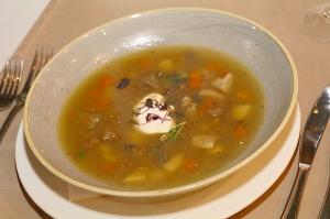 Travelnews.lv ievērtē Jūrmalas viesnīcas restorāna «Kurshi Terase» vakariņu piedāvājumu 14