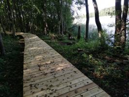 Jaundomes dabas taka Dagdā lieliski papildinās Jaundomes muižas Vides izglītības centra piedāvājumu -  tūristi varēs ne tikai iepazīt ezera pasauli ek 2