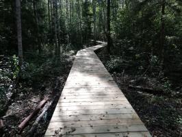 Jaundomes dabas taka Dagdā lieliski papildinās Jaundomes muižas Vides izglītības centra piedāvājumu -  tūristi varēs ne tikai iepazīt ezera pasauli ek 12