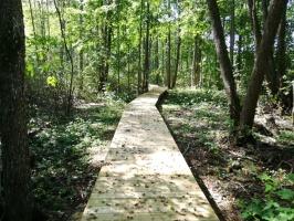 Jaundomes dabas taka Dagdā lieliski papildinās Jaundomes muižas Vides izglītības centra piedāvājumu -  tūristi varēs ne tikai iepazīt ezera pasauli ek 17