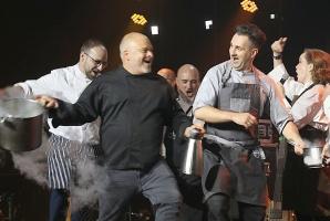 Latvijas populārākais šefpavārs Mārtiņš Rītiņš lielā draugu un viesu pulkā svin 70 3