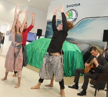«Green Motors» svin 2 gadu jubileju un prezentē jaunu modeli «Škoda Kamiq» 10