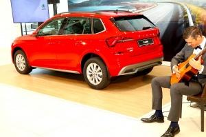 «Green Motors» svin 2 gadu jubileju un prezentē jaunu modeli «Škoda Kamiq» 12