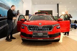 «Green Motors» svin 2 gadu jubileju un prezentē jaunu modeli «Škoda Kamiq» 13