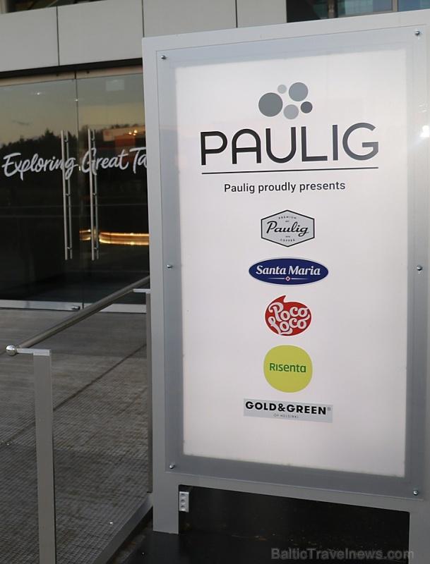 Travelnews.lv 29.10.2019 apmeklē tūristiem nepieejamo kafijas rūpnīcu «Paulig» un uzņēmuma muzeju Helsinkos