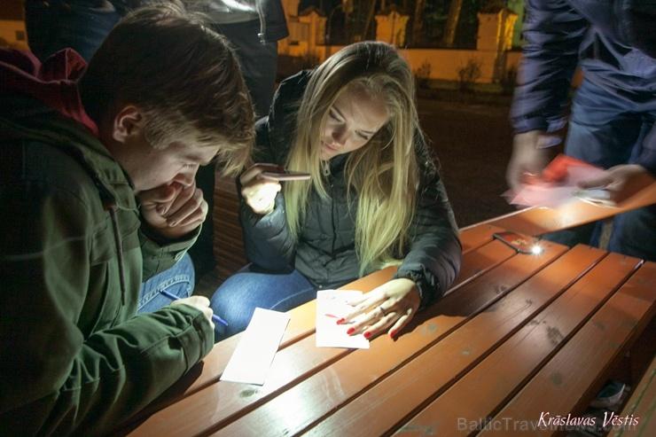 Krāslavas grāfu Plāteru pils kompleksā izbauda Leģendu nakti