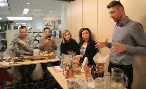 Travelnews.lv Helsinkos apmeklē «Paulig» kafijas grauzdētavu un kafejnīcu «Kulma» 31