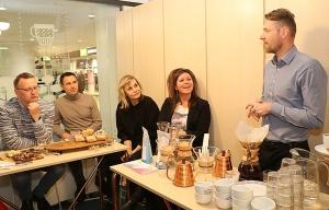 Travelnews.lv Helsinkos apmeklē «Paulig» kafijas grauzdētavu un kafejnīcu «Kulma» 34
