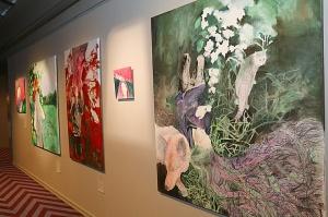 Viesnīcā «Grand Poet by Semarah Hotels» jaunā māksliniece Kristīne Rublovska atklāj personālizstādi 4