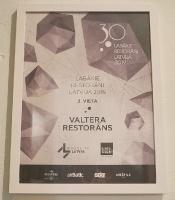 Travelnews.lv novērtē un izbauda «Valtera restorāns» jauno konceptu pēc pārbūves 11