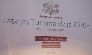 Rīgā 12.11.2019 pulcējas tūrisma profesionāļi uz Latvijas tūrisma forumu «Sadarboties, lai iedarbotos» 11