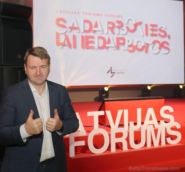 Latvijas tūrisma forums «Sadarboties, lai iedarbotos» pulcē Rīgā ceļošanas speciālistus 271046