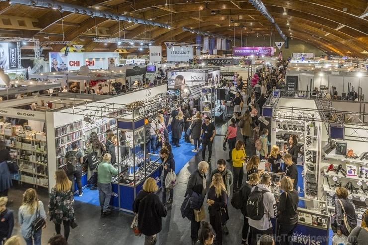 Ar rekordlielu dalībnieku skaitu un fantastisku svētku atmosfēru Ķīpsalā aizvadīta izstāde Baltic Beauty 2019