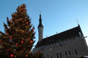 Igaunijas galvaspilsētā Tallinā valda Ziemassvētku noskaņa 1
