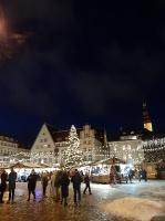 Igaunijas galvaspilsētā Tallinā valda Ziemassvētku noskaņa 4