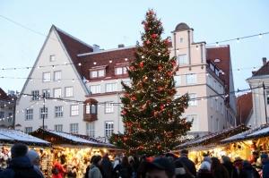 Igaunijas galvaspilsētā Tallinā valda Ziemassvētku noskaņa 7