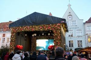Igaunijas galvaspilsētā Tallinā valda Ziemassvētku noskaņa 9