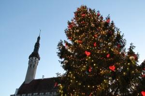 Igaunijas galvaspilsētā Tallinā valda Ziemassvētku noskaņa 11