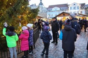 Igaunijas galvaspilsētā Tallinā valda Ziemassvētku noskaņa 13