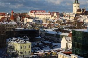 Igaunijas galvaspilsētā Tallinā valda Ziemassvētku noskaņa 14