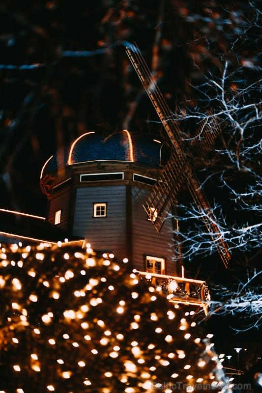 Tuvojoties Ziemassvētkiem, atpūtas centrs LIDO iemirdzējies īpaši spoži