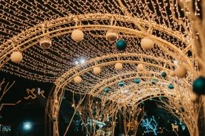 Tuvojoties Ziemassvētkiem, atpūtas centrs LIDO iemirdzējies īpaši spoži 1