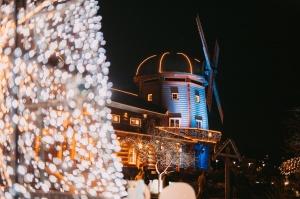 Tuvojoties Ziemassvētkiem, atpūtas centrs LIDO iemirdzējies īpaši spoži 7