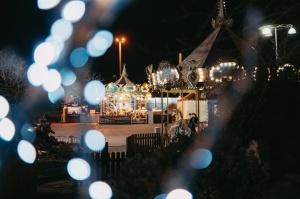 Tuvojoties Ziemassvētkiem, atpūtas centrs LIDO iemirdzējies īpaši spoži 13