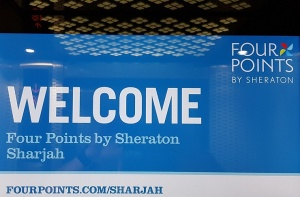 Travelnews.lv nakšņo Šārdžas viesnīcā «Four Points by Sheraton Sharjah» - Foto