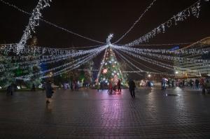 Daugavpils Ziemassvētku laikā saposusies īpaši grezni 2