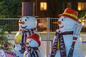 Daugavpils Ziemassvētku laikā saposusies īpaši grezni 3