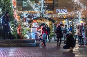 Daugavpils Ziemassvētku laikā saposusies īpaši grezni 4