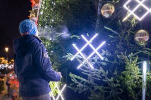 Daugavpils Ziemassvētku laikā saposusies īpaši grezni 7